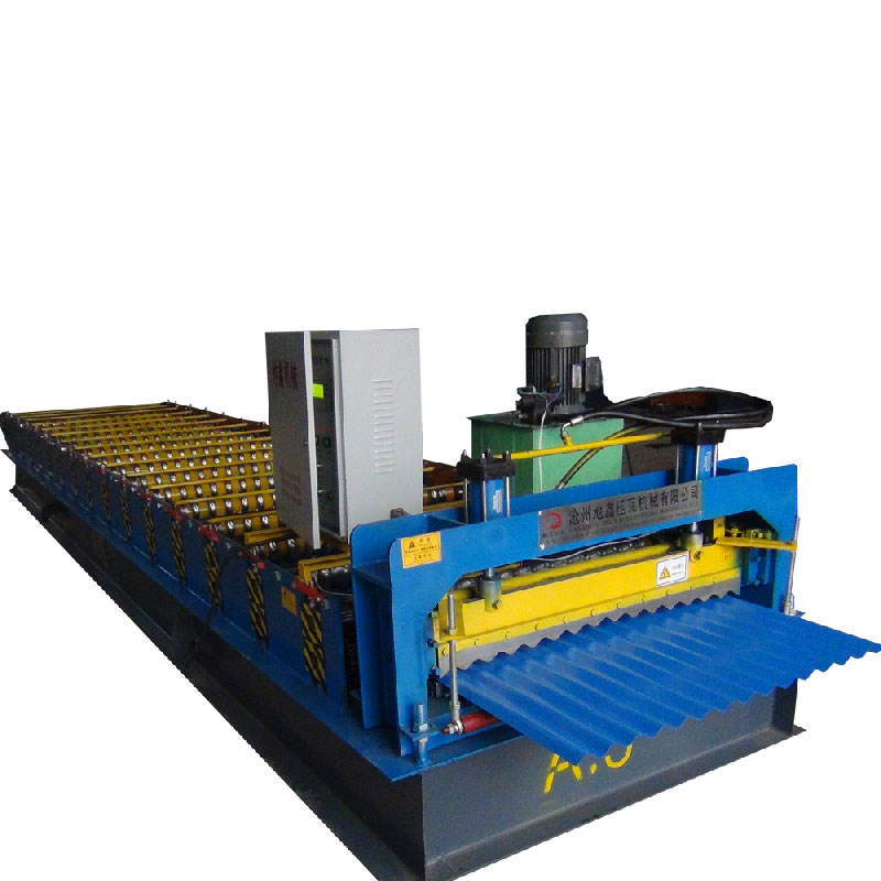 DX Kenya common used glazed metal roofing roll forming machine for sale