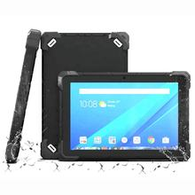 CHEAPEST factory 10 inch 1920*1200 Android 7.0 4GRAM+64G ROM rugged tablets 4G LTE RJ45 RS232 rugged tablet pc with 2D barcode