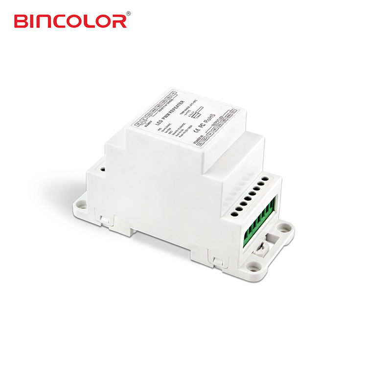 BC-965-DIN Akzeptiert PWM SIGNAL 5CH DIN-SCHIENE LED Power Repeater