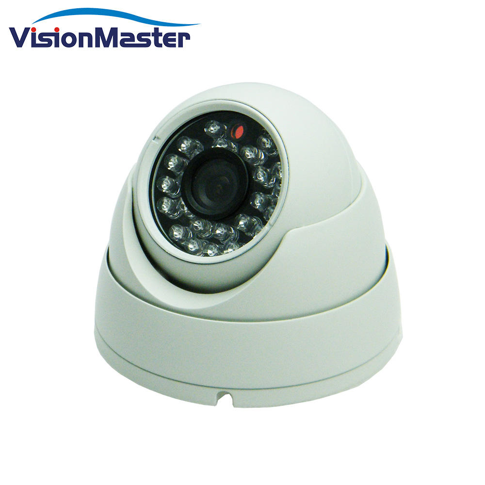 HD 720P/1080P Onvif POE Sony CCD Security Dome Ip Camera for vehicles