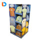 Clothing Display Retail Cardboard Display Hot Sales Recyclable POP Promotion Cardboard Clothing Store Retail Floor Tiered Pallet Display