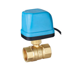 """electric Actuated Brass Ball Valve 3"""", 110 VAC"""