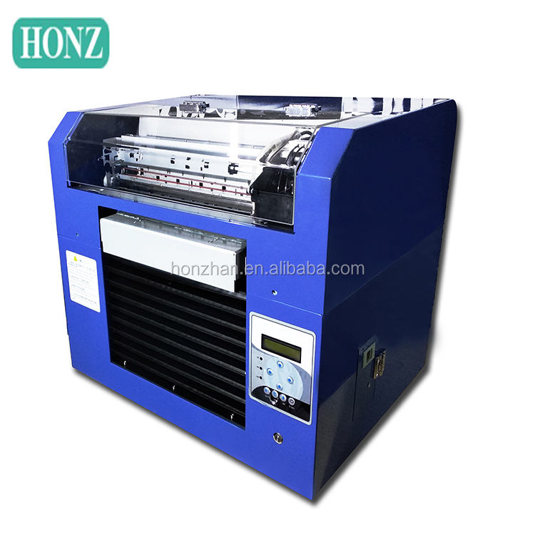 Soft and hard materials surface do color graphic printing machine