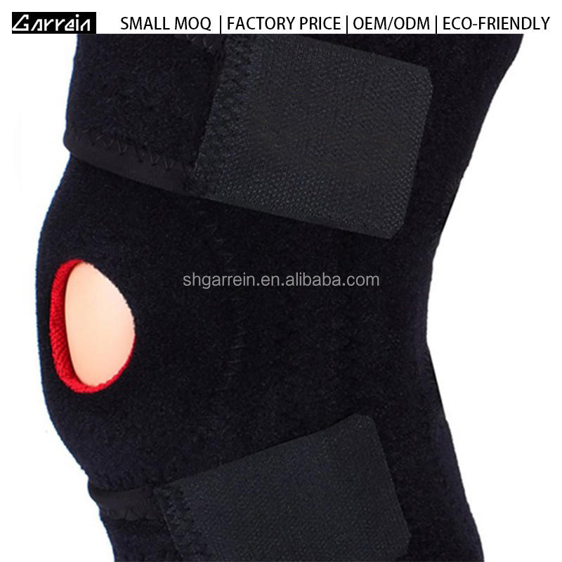 Low MOQ In Stock Top Quality Neoprene Fabric Skate Knee Pads Guard for Sport