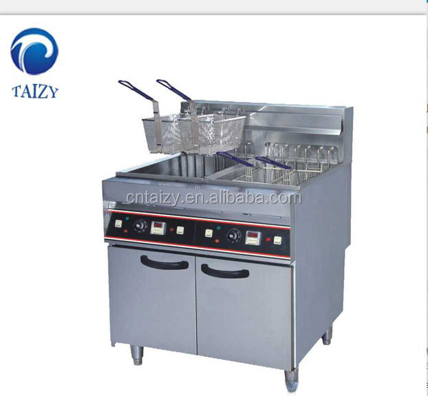 commercial potato chips fryer electric gas deep fryer
