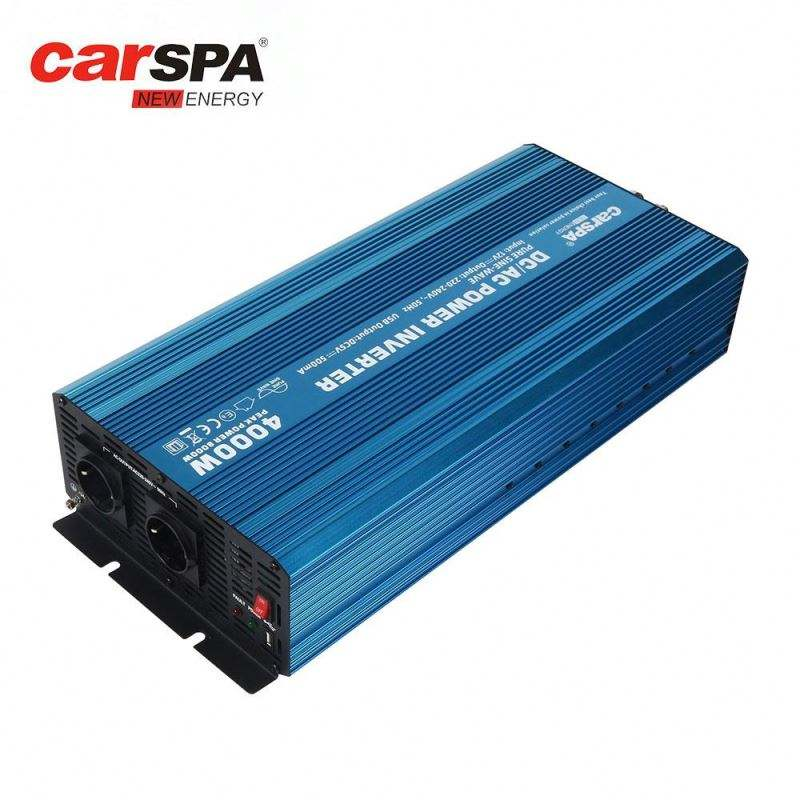 carspa solar power inverter with soft start 24v 220v 4000W pure sine wave CASPA or OEM- P2000U-24
