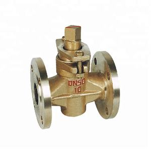 Fland Ends Sleeve Type Soft Sealing Bronze Plug Valves