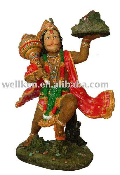 indian god Hanuman idol