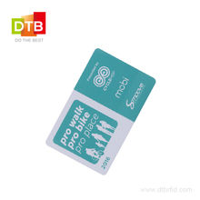 DTB Hot Selling 13.56MHz RFID IC Memory  Blank PVC Card