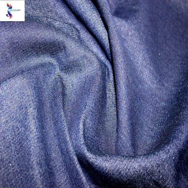 High quality soft and Comfortable wholesale poly cotton denim fabric stocklot for jeans
