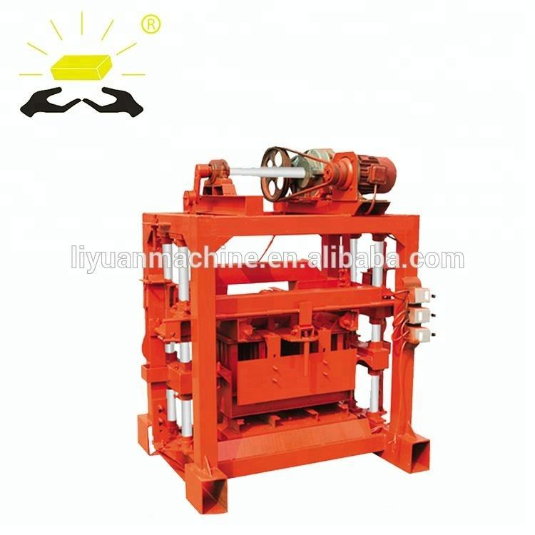 QTJ4-40 reliable hollow block machine of high quality