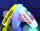 China glow bracelet supplier wedding gifts promotional ads glow wrist band