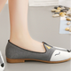 2018 spring new design fashion soft-soled round head cute animal woman shoes