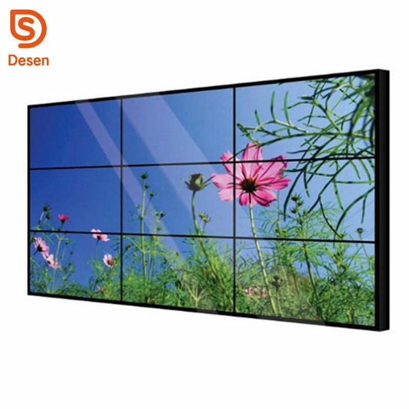 DID 4 k sem costura montado na parede de exibição de vídeo LED com <span class=keywords><strong>SAMSUNG</strong></span> ou LG LCD moldura estreita parede de vídeo