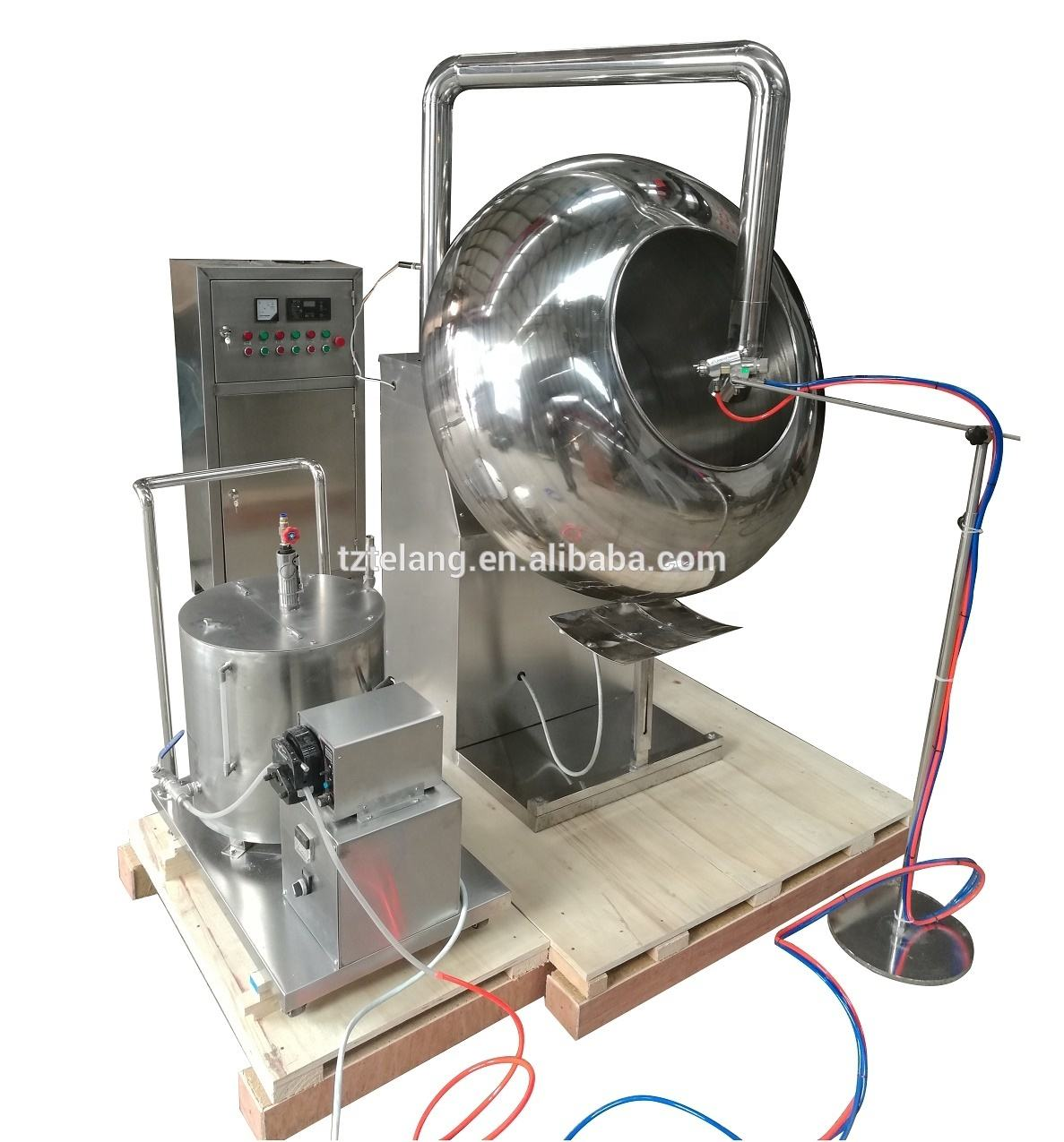 BY Sugar Coating Machine for Nut Peanut Almond Raisin Coating
