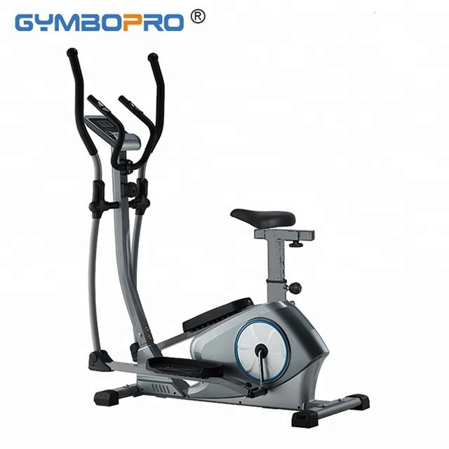 Lightweight Indoor Folding Stationary Bike Magnetic Cross Trainer