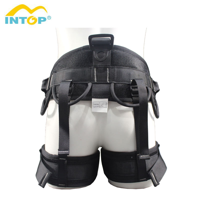 Intop hot selling polyester material rock climbing belt climbing harness with cheap price