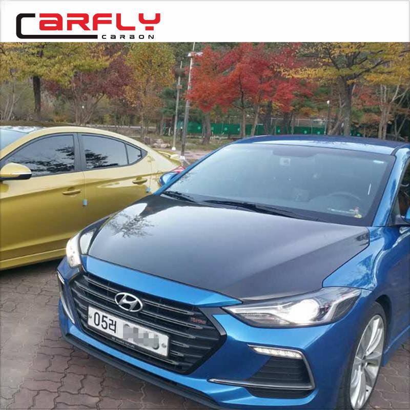 For Hyundai Elantra 2019-2020 7th Gen Rear Window Roof Spoiler Unpainted