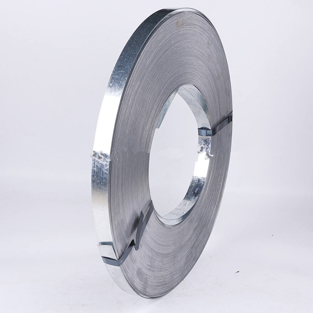 gi zinc coating z100g hot dipped galvanized strip Q195 Grade galvanized slitted steel coil