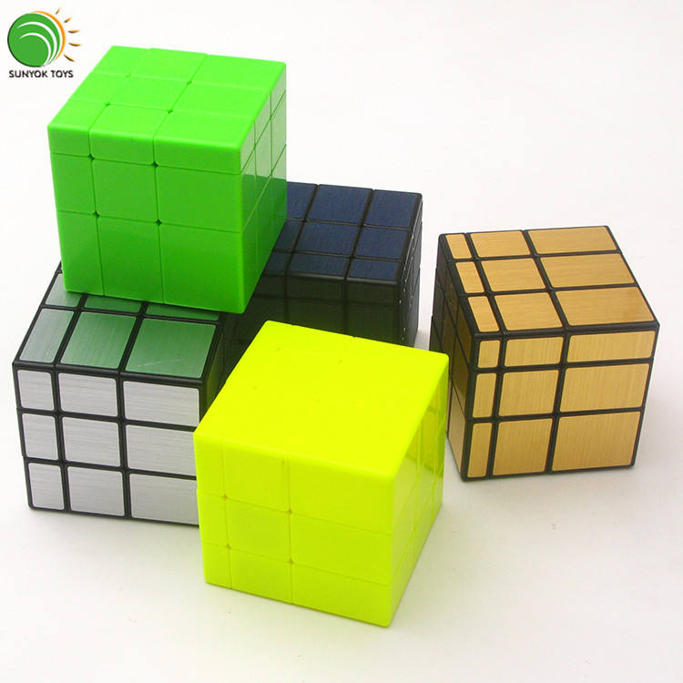New QIYI MoFangGe mirror cube beginner plastic speed cube educational toys