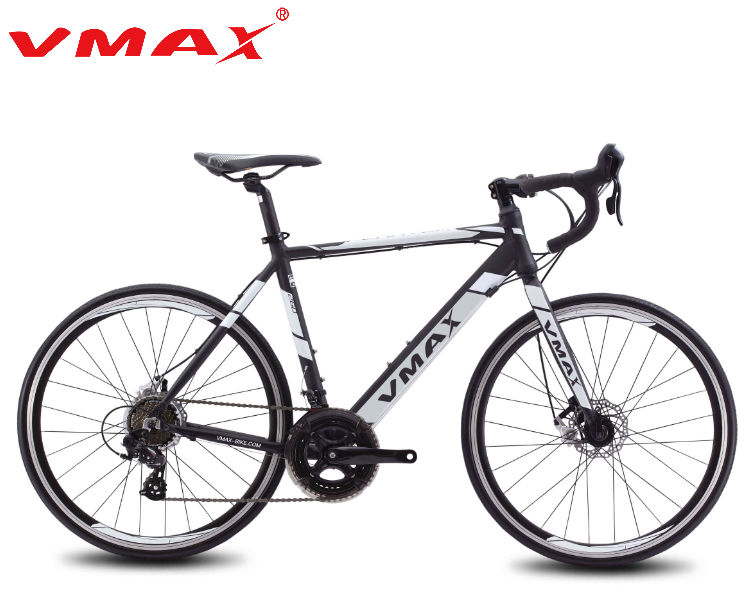 Fashionable 26'' road bike and 21speed F/R disc brake city bike for men and women