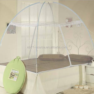 2016 hot sale foldable double bed mosquito net