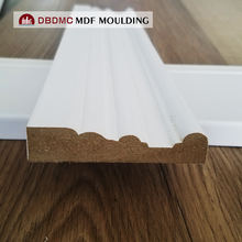 HOT Sale decorative door and window casing moulding primed MDF trim and casing moulding