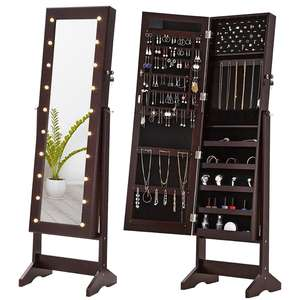 Floor Jewelry Armoire From Home Furniture Factory