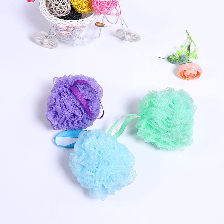Bath Shower Body Shower Cleaning Exfoliating Shower Loofah Ball