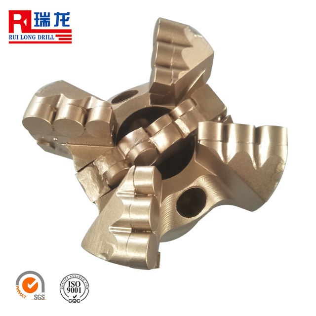 190mm four 4 blades sheet pdc non core drill bit