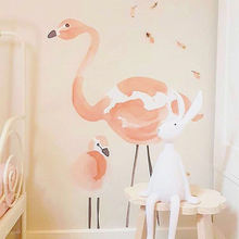 Best selling balloon,flamingo PVC art wall sticker,wallpaper home decoration