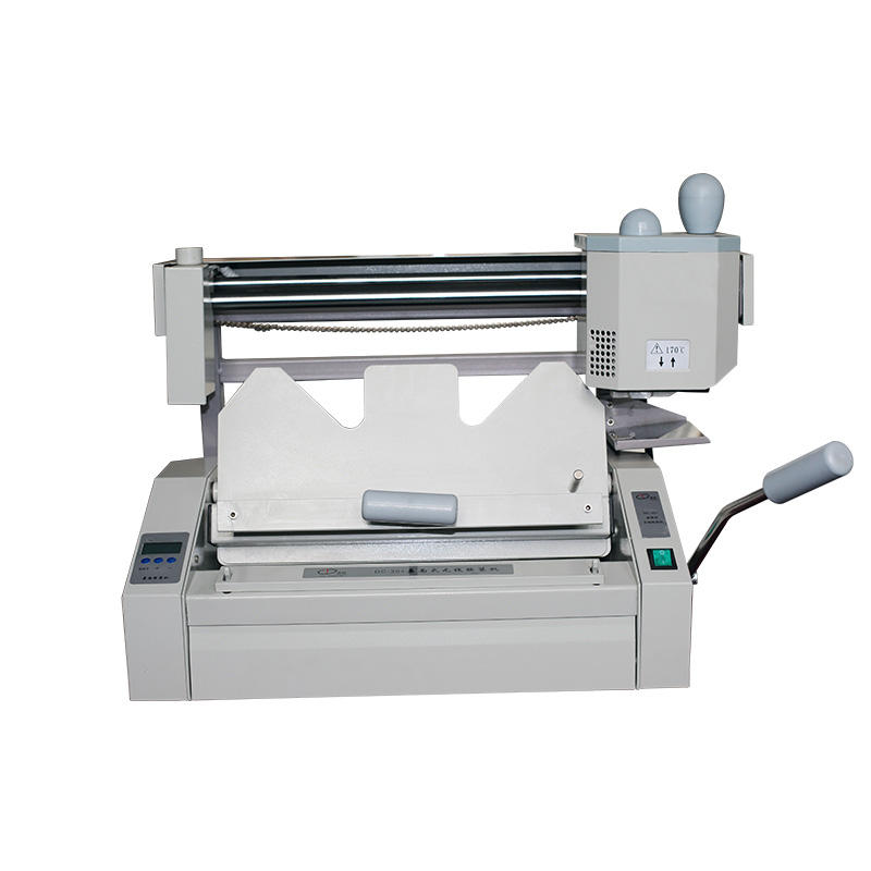 Perfect binding machine with side glue automatic spiral binding machine