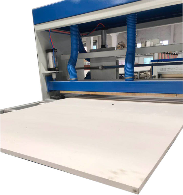 WPC and PVC foam board extrusion machine for home decoration furniture