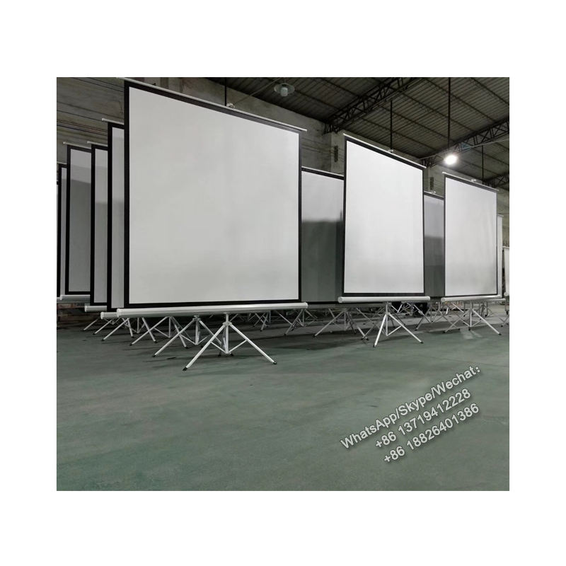 XYSCREEN OEM office equipment stand meeting room home theater outdoor tripod projector screen