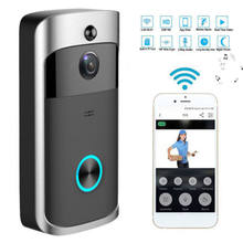 1080P Doorbell Camera Wifi Video Door Bell Camera Wireless Video Door Phone Intercom HD Ring Wifi Doorbell Camera for Apartments