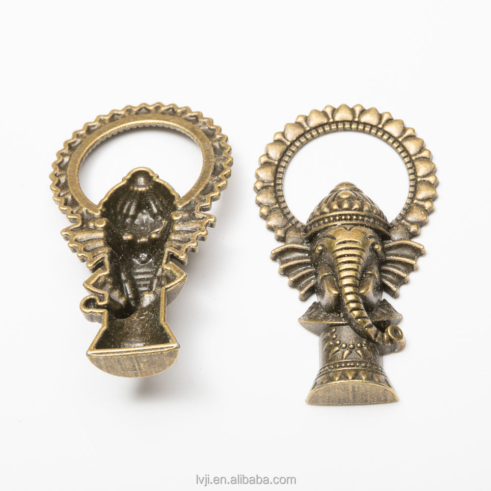 ganesh hindu elephant god pendant for necklace