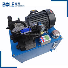 High quality customization YUKEN hydraulic system 2.2KW power unit AR16 AR22 plunger pump hydraulic station