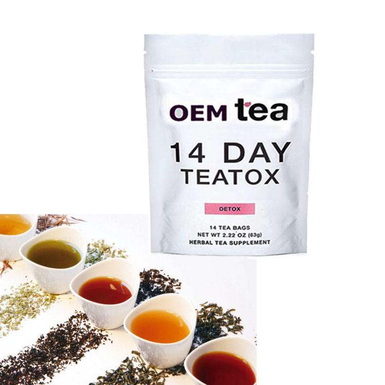 Healthy Sliming Weight Lost Tea With Customized Label