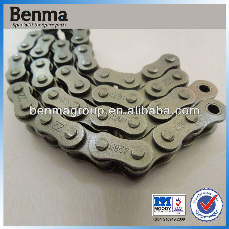 Motorcycle Sprocket Chain Kits 428h/118l for Titan150, Good Quality Chain Links for Motor