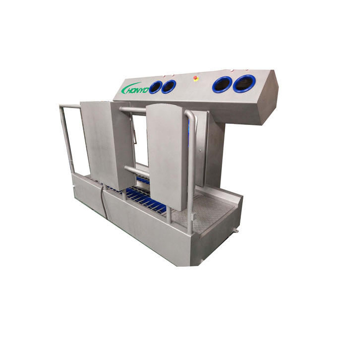 EXPRO Automatic Hygiene Station Boots Washer With Turnstile