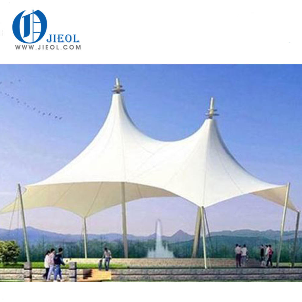 Hot new promotional tensile stretch membrane structures tent