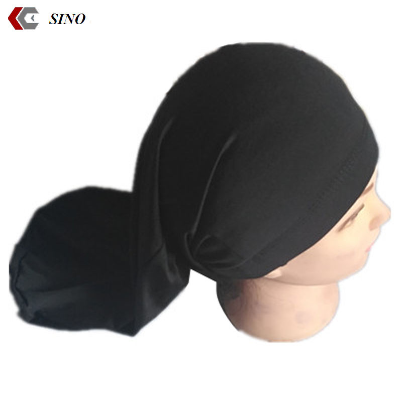 long hop pocket cap dreadlock stocking cap bonnet spandex closed long bandana beanies islamic turban cap