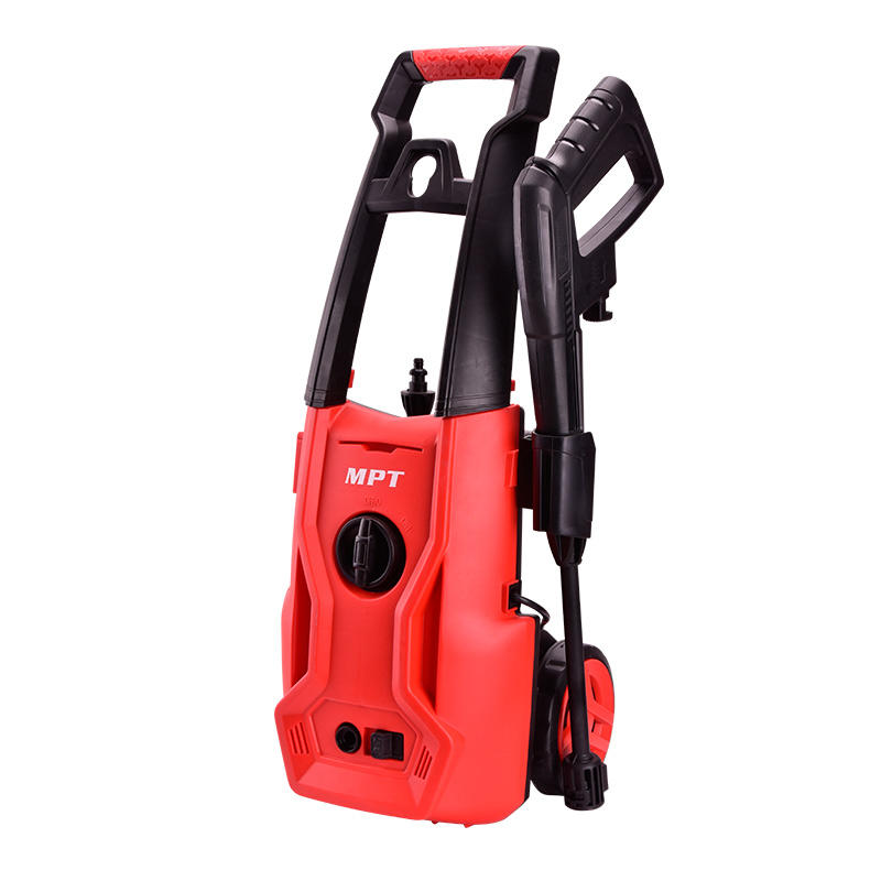 MPT 1400W portable high pressure washer 125bar electric car washer high pressure clenaer