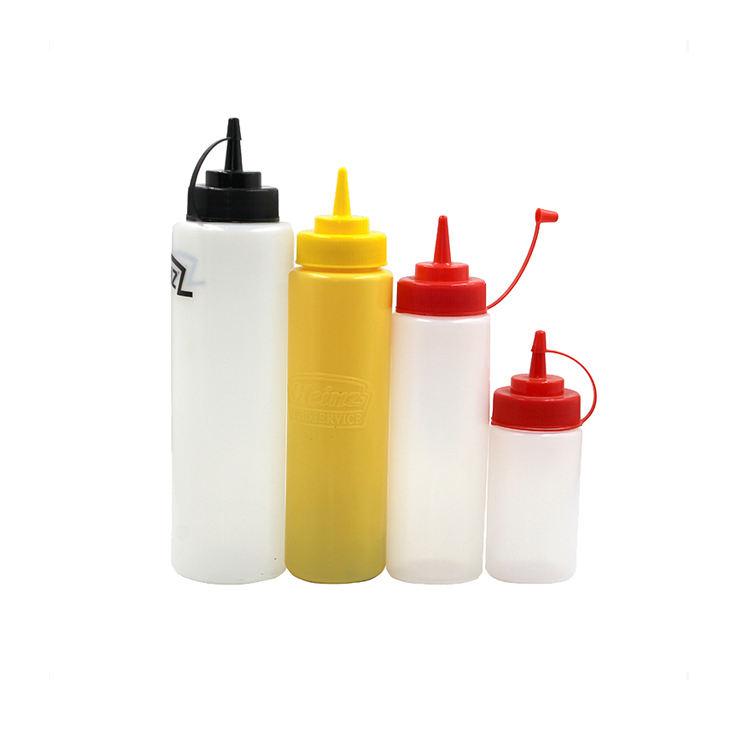 Vuoto morbido LDPE squeeze chili di <span class=keywords><strong>pomodoro</strong></span> caldo bbq <span class=keywords><strong>salsa</strong></span> di panna ketchup bottiglia di plastica
