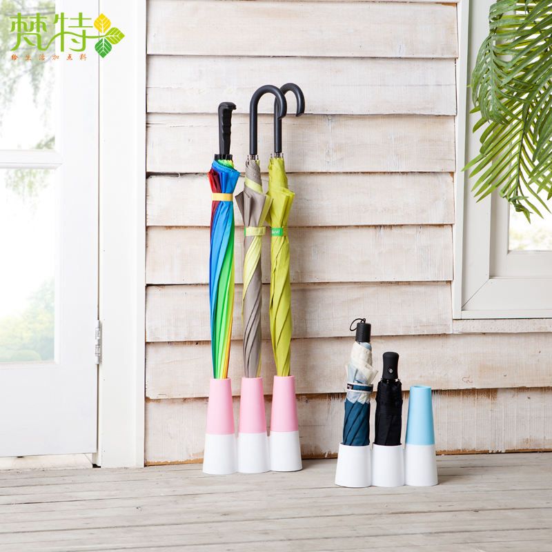 Factory supplier 3 combine plastic umbrella stand holder for home