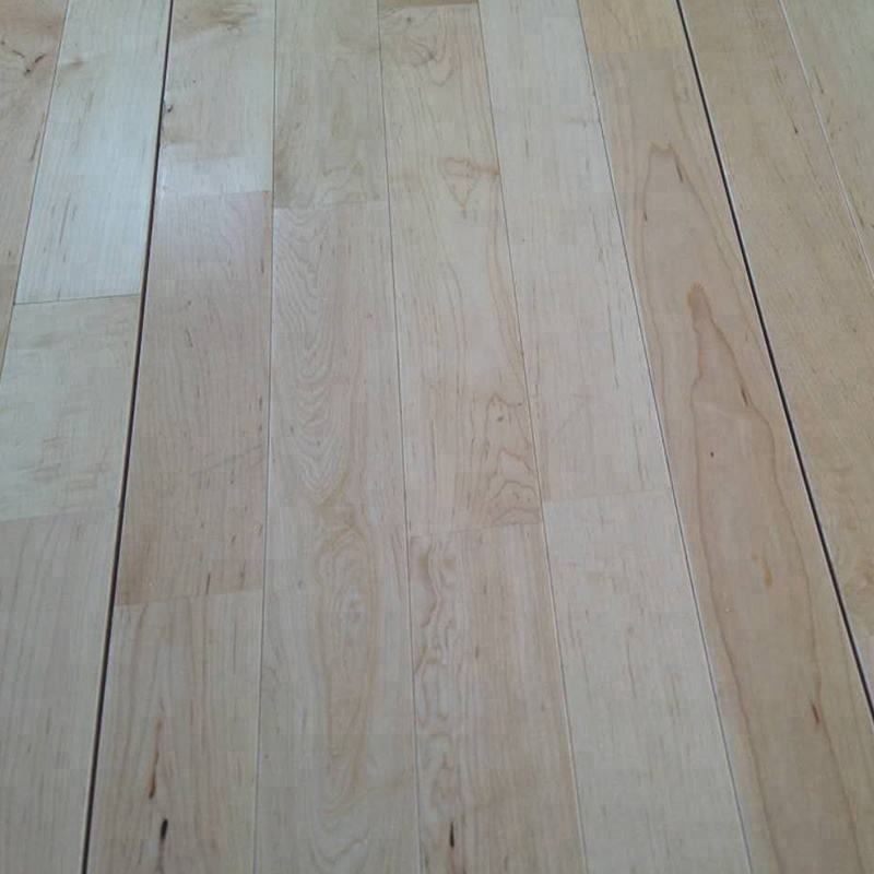 Multi-purpose Basketball Court Maple wood sports flooring for gym