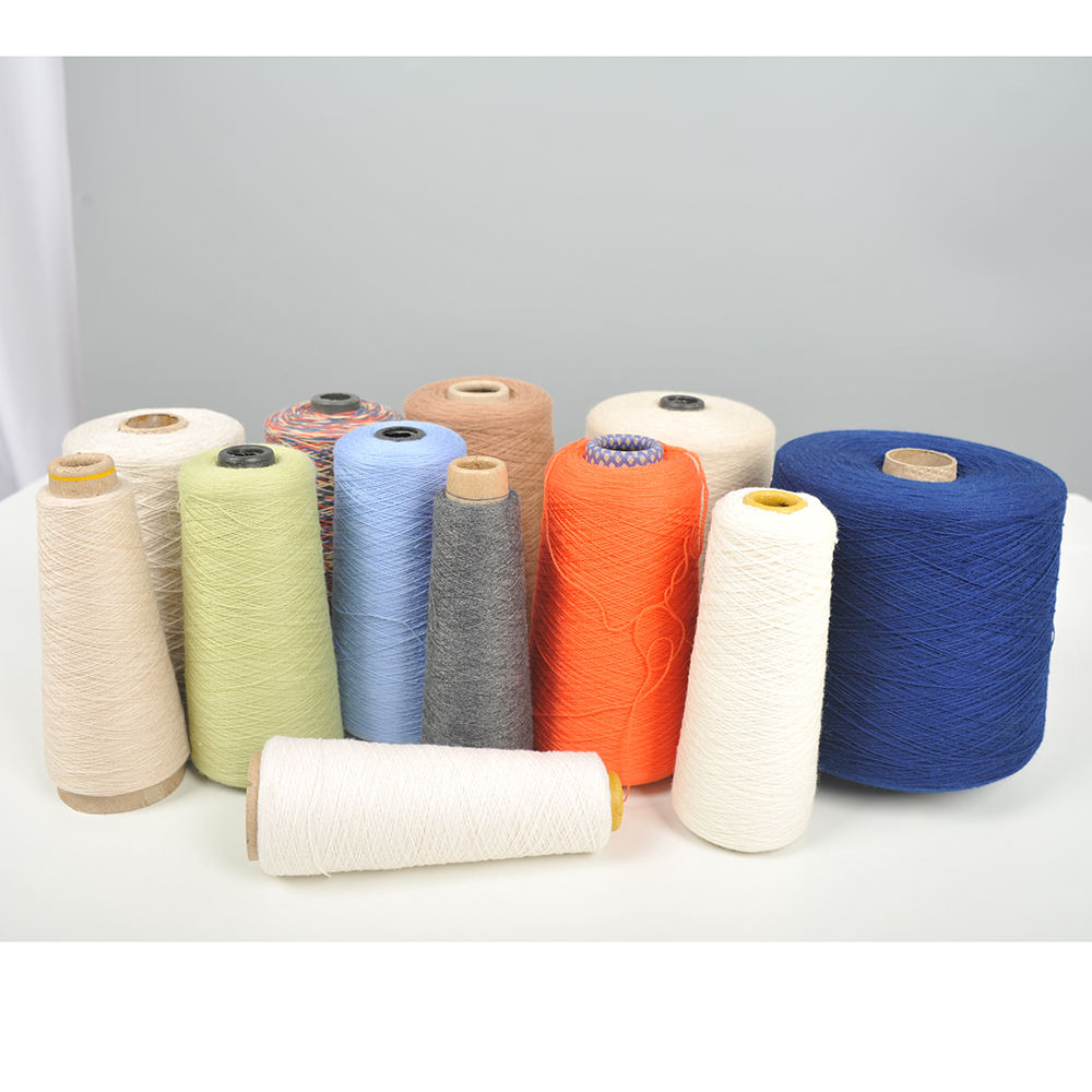 cashmere wool cotton merino wool yarn accept Customization