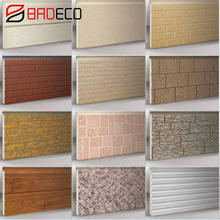 16mm 20mm 30mm 40mm Exterior Decoration Pu Sandwich Panel