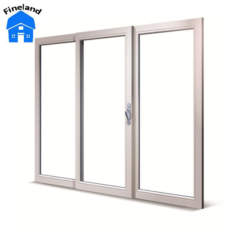 Китай поставщик алюминиевого Прозрачный большой бизнес-стеклянные двери
