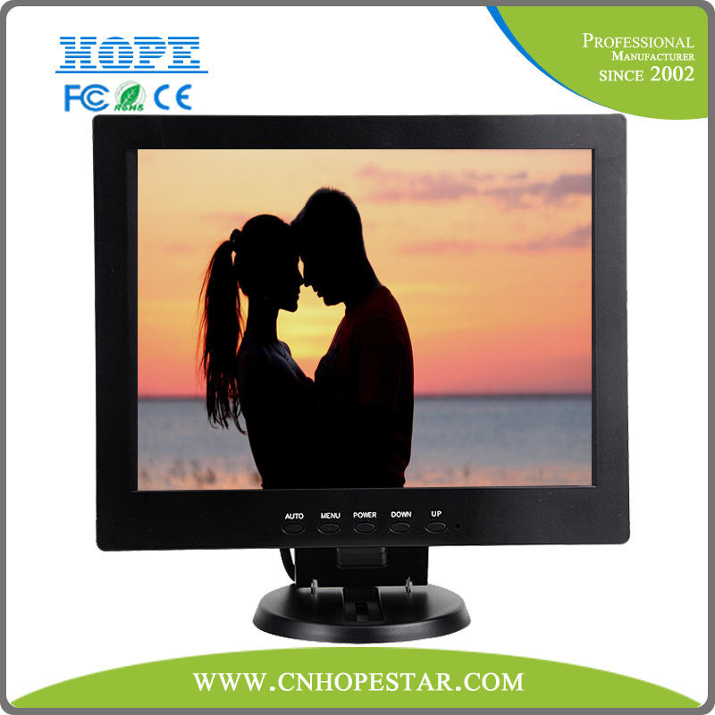 industrial 12 inch professional broadcast HD 3G SDI monitor with high resolution VGA
